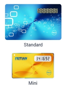 Feitian OTP Cards